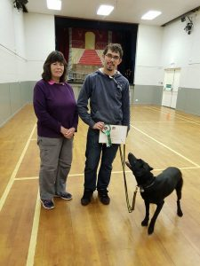 Susie Galloway with Colin and Ollie